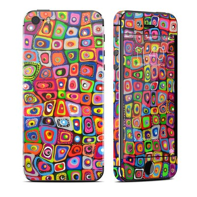 Apple iPhone 5S Skin - Square Dancing