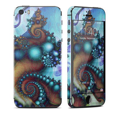 Apple iPhone 5S Skin - Sea Jewel