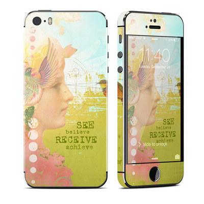 Apple iPhone 5S Skin - See Believe