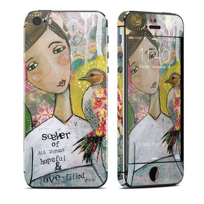 Apple iPhone 5S Skin - Seeker of Hope