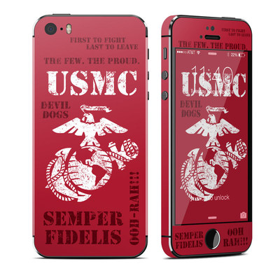 Apple iPhone 5S Skin - Semper Fi