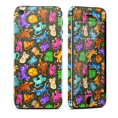 Apple iPhone 5S Skin - Sew Catty