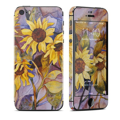 Apple iPhone 5S Skin - Sunflower