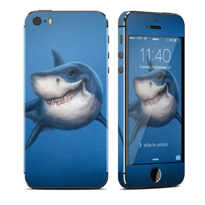Apple iPhone 5S Skin - Shark Totem