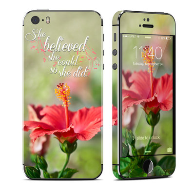 Apple iPhone 5S Skin - She Believed