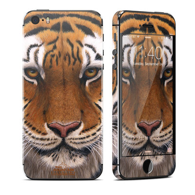 Apple iPhone 5S Skin - Siberian Tiger