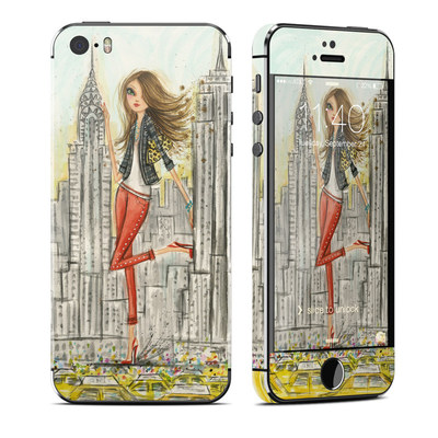 Apple iPhone 5S Skin - The Sights New York