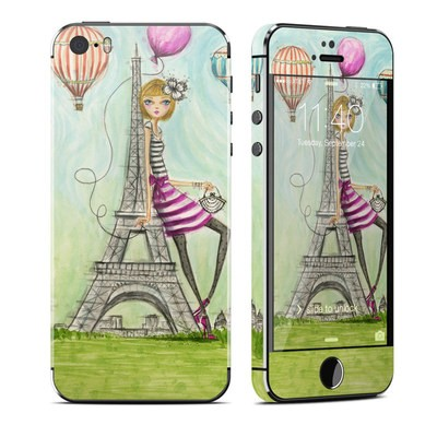 Apple iPhone 5S Skin - The Sights Paris