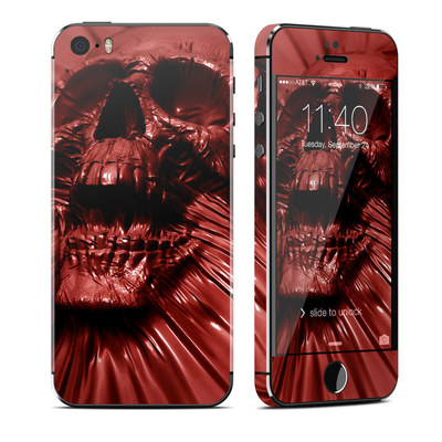 Apple iPhone 5S Skin - Skull Blood