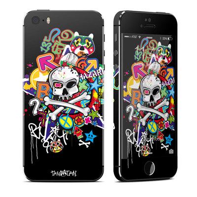 Apple iPhone 5S Skin - Skulldaze
