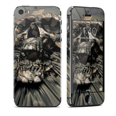 Apple iPhone 5S Skin - Skull Wrap