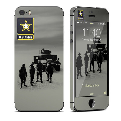 Apple iPhone 5S Skin - Soldiers All