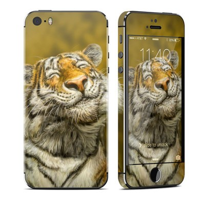 Apple iPhone 5S Skin - Smiling Tiger