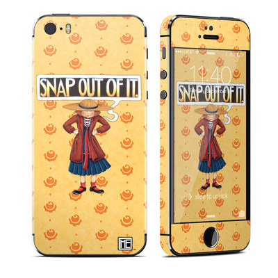 Apple iPhone 5S Skin - Snap Out Of It