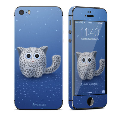 Apple iPhone 5S Skin - Snow Leopard