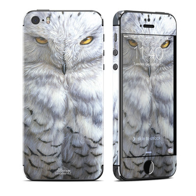 Apple iPhone 5S Skin - Snowy Owl