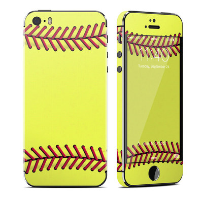 Apple iPhone 5S Skin - Softball