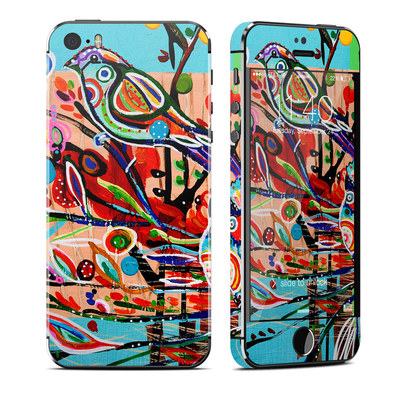 Apple iPhone 5S Skin - Spring Birds