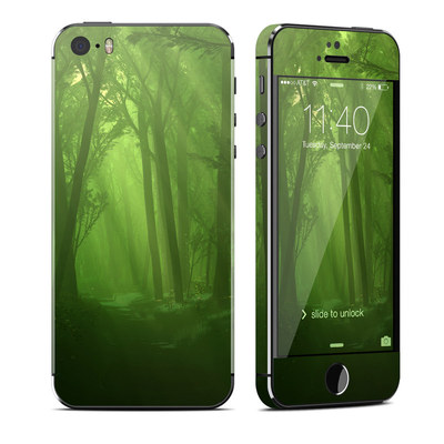 Apple iPhone 5S Skin - Spring Wood