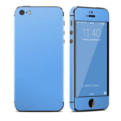 Apple iPhone 5S Skin - Solid State Blue