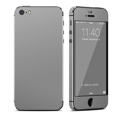 Apple iPhone 5S Skin - Solid State Grey