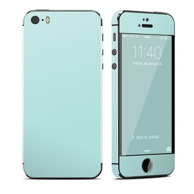 Apple iPhone 5S Skin - Solid State Mint