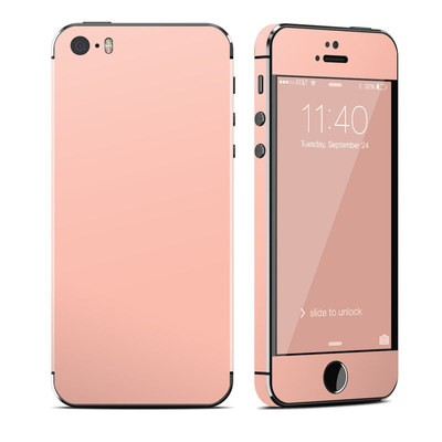 Apple iPhone 5S Skin - Solid State Peach