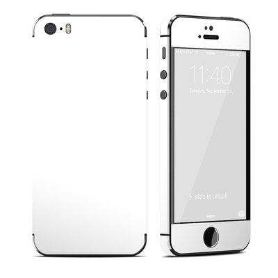 Apple iPhone 5S Skin - Solid State White
