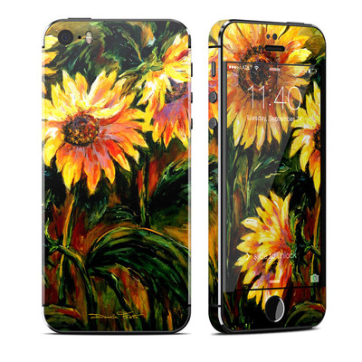 Apple iPhone 5S Skin - Sunflower Sunshine