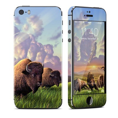 Apple iPhone 5S Skin - Stampede