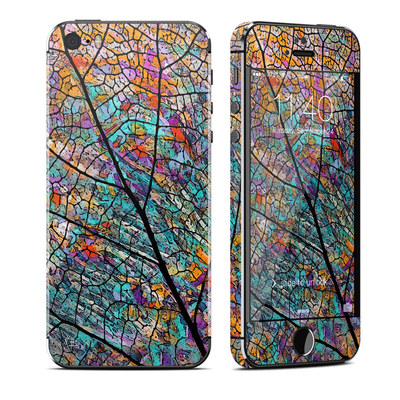 Apple iPhone 5S Skin - Stained Aspen