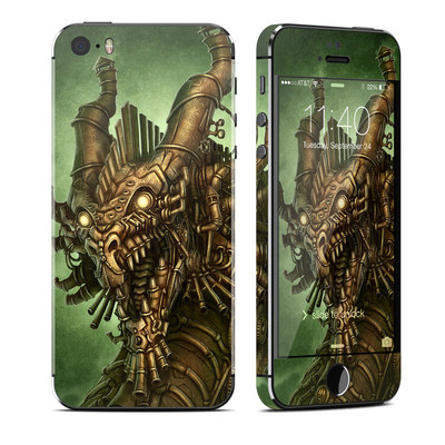 Apple iPhone 5S Skin - Steampunk Dragon