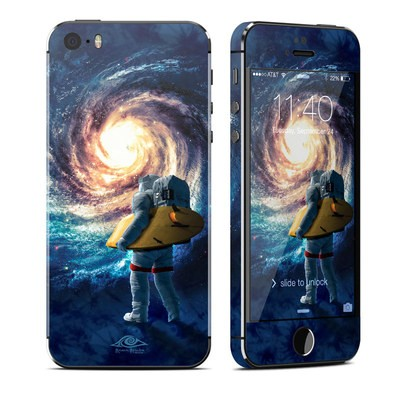 Apple iPhone 5S Skin - Stellar Surfer