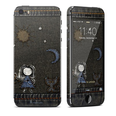 Apple iPhone 5S Skin - Stitching