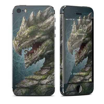 Apple iPhone 5S Skin - Stone Dragon