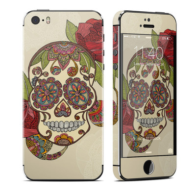 Apple iPhone 5S Skin - Sugar Skull