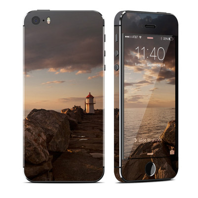 Apple iPhone 5S Skin - Sunset Beacon