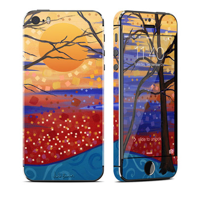 Apple iPhone 5S Skin - Sunset Moon