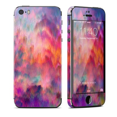 Apple iPhone 5S Skin - Sunset Storm