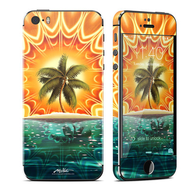 Apple iPhone 5S Skin - Sundala Tropic
