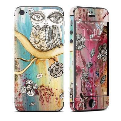 Apple iPhone 5S Skin - Surreal Owl