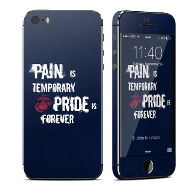 Apple iPhone 5S Skin - Pain is Temporary
