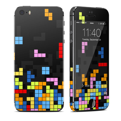 Apple iPhone 5S Skin - Tetrads