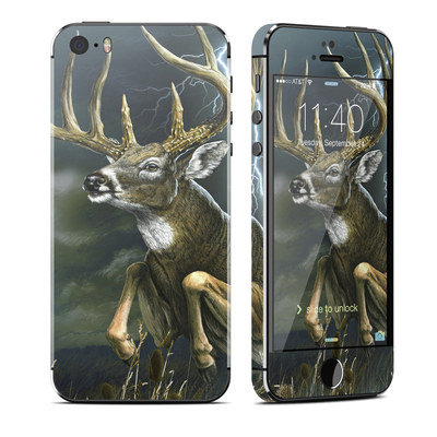 Apple iPhone 5S Skin - Thunder Buck