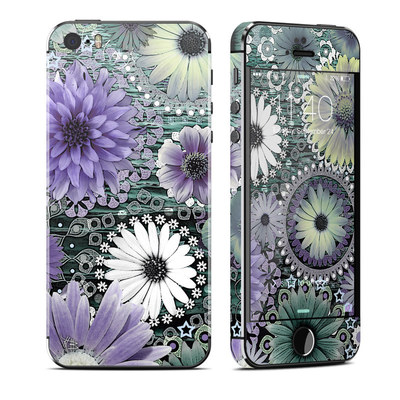 Apple iPhone 5S Skin - Tidal Bloom