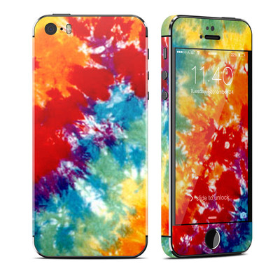 Apple iPhone 5S Skin - Tie Dyed