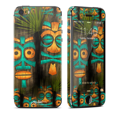 Apple iPhone 5S Skin - Tiki Abu