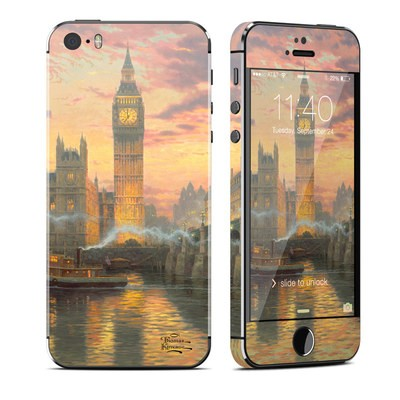 Apple iPhone 5S Skin - Thomas Kinkades London