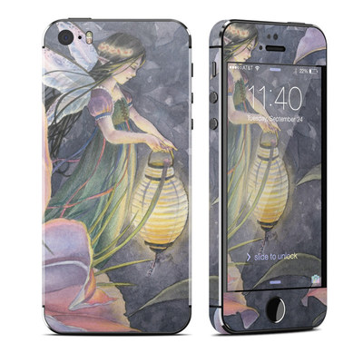 Apple iPhone 5S Skin - Twilight Lilies