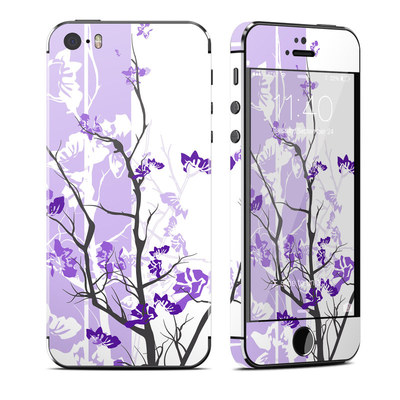 Apple iPhone 5S Skin - Violet Tranquility